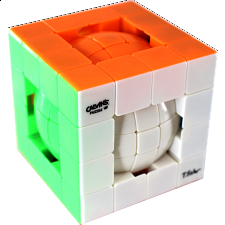 Tony Ball-in-Cube - Stickerless - Other Rotational Puzzles