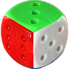 2x2x2 Dice Cube - Stickerless - Other Rotational Puzzles