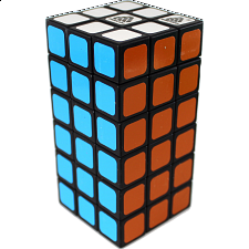 1688Cube 3x3x6 Cuboid (Symmetric) - Black Body - Other Rotational Puzzles