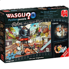 Wasgij Mystery Retro #1: The Wasgij Express! - Wasgij