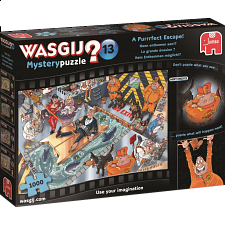 Wasgij Mystery #13: A Purrrfect Escape! - New Items