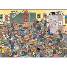 Jan van Haasteren Comic Puzzle - Find The Mouse! -