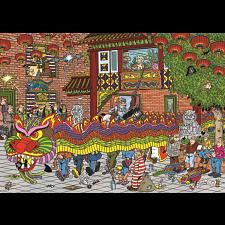 Jan van Haasteren Comic Puzzle - Chinese New Year - Jigsaws