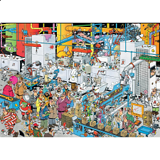Jan van Haasteren Comic Puzzle - Candy Factory -