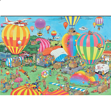 Jan van Haasteren Comic Puzzle - The Balloon Festival -