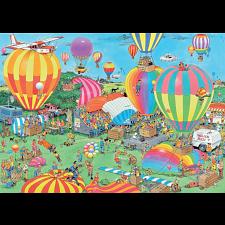 Jan van Haasteren Comic Puzzle - The Balloon Festival - 1000 Pieces