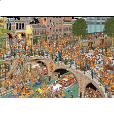 Jan van Haasteren Comic Puzzle - King's Day - Search Results