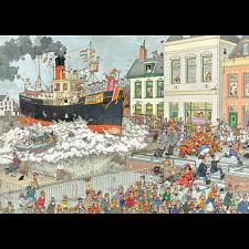 Jan van Haasteren Comic Puzzle - St. Nicolas Parade -
