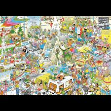 Jan van Haasteren Comic Puzzle - The Holiday Fair -
