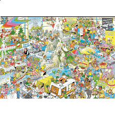 Jan van Haasteren Comic Puzzle - The Holiday Fair - New Items