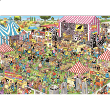 Jan van Haasteren Comic Puzzle - Pop Festival -