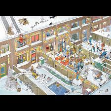 Jan van Haasteren Comic Puzzle - Christmas Eve - 1000 Pieces