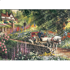 Carriage Ride - Large Piece - 101-499 Pieces
