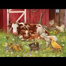 Barnyard Babies - Family Pieces Puzzle -