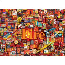 Fire - 1000 Pieces