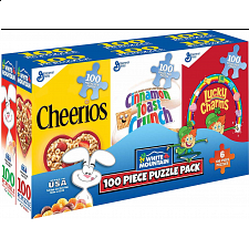 Mini Cereal Boxes - 6 x 100 piece puzzles - New Items