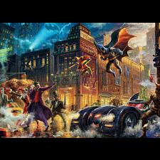 DC Comics: Thomas Kinkade - Gotham City - 1000 Pieces