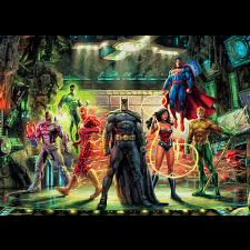 DC Comics: Thomas Kinkade - The Justice League - Thomas Kinkade