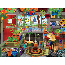 Tracy Flickinger: Greenhouse - 101-499 Pieces
