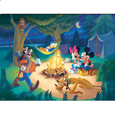 Together Time: Campfire Disney - Family Pieces Puzzle - 101-499 Pieces