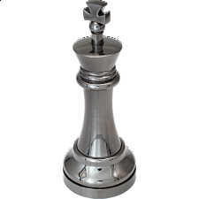 """Black"" Color Chess Piece - King -"