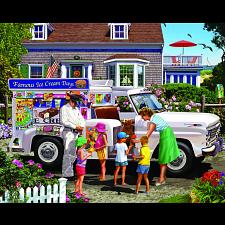 Ice Cream Truck - 1000 Pieces