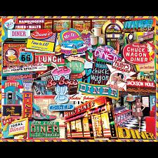 Retro Diner - 1000 Pieces
