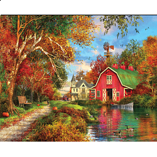 Autumn Barn - 1000 Pieces