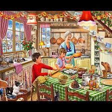 Christmas At Grandma's - 1000 Pieces