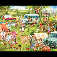 Happy Campers - 1000 Pieces