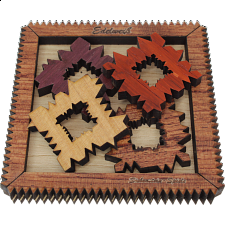 Edelweiss 4.0 (Frame 2) - European Wood Puzzles