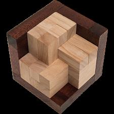 Open Crochet Cube -