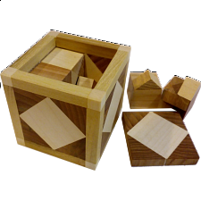 Special Box 503 (4TR+1SQ - lid) - European Wood Puzzles