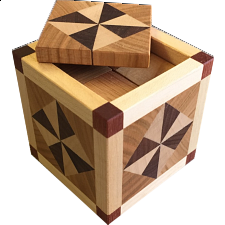 Special Box 509 (4TR+8TR - lid) - European Wood Puzzles