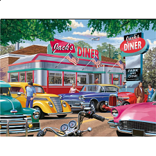 Meet You At Jack's - Large Piece Format - Large Piece Jigsaws