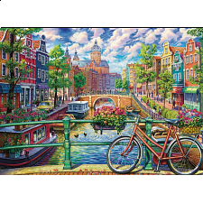 Amsterdam Canal - 1000 Pieces