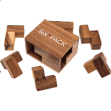 Six Pack - Wood Puzzles