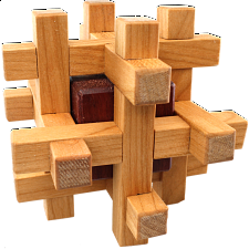 Jailed Block - Other Wood Puzzles