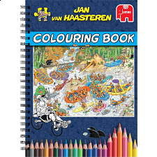 Jan Van Haasteren Colouring Book - Volume 1 - Puzzle Books
