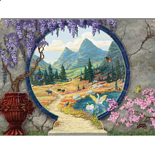 Into a New World - Large Piece Format - 101-499 Pieces