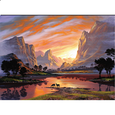 Tranquil Sunset - New Items