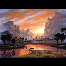 Tranquil Sunset - Jigsaws