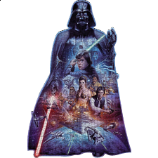 Darth Vader - Shaped Jigsaw Puzzle - 1001 - 5000 Pieces