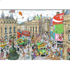Cities of the World: London - Piccadilly Circus - 1000 Pieces