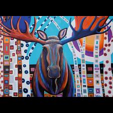 Winter Moose - 1000 Pieces