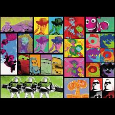 Disney Pixar: Pop-Art - 1000 Pieces