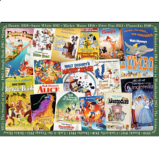 Disney: Vintage Movie Posters - 1000 Pieces