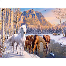 Winter Horses - 101-499 Pieces