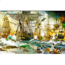 Battle on High Sea - 1001 - 5000 Pieces