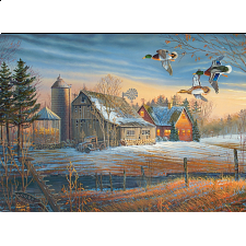 Farmstead Flyby - Large Piece -